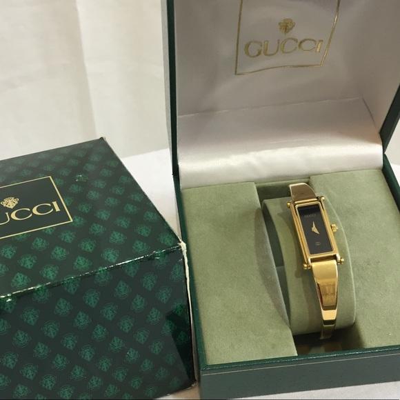 66e57513e77cf Gucci Accessories   Authentic 1500l Ladies Quartz Watch   Poshmark